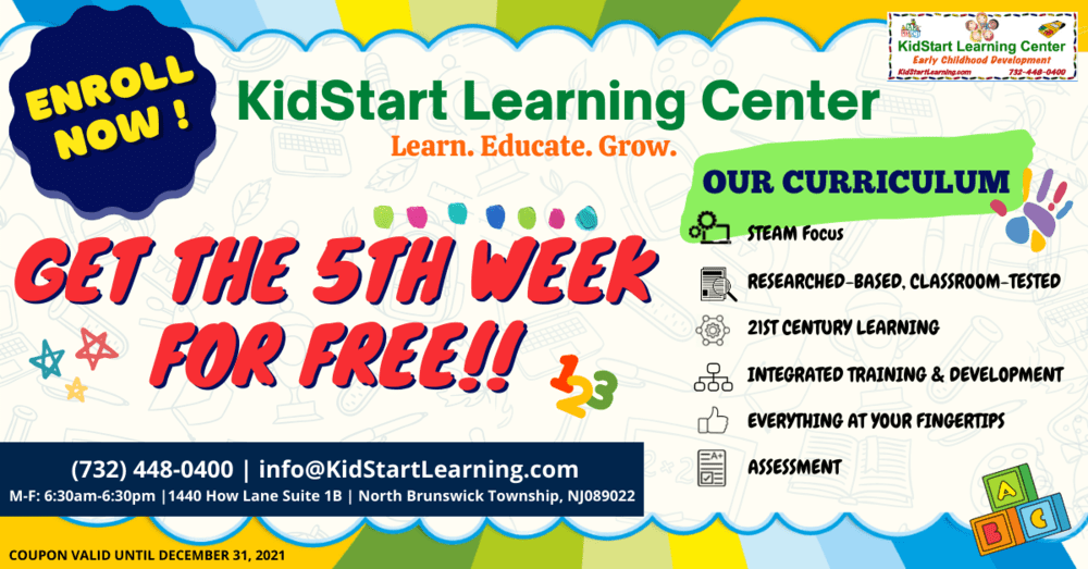 Enroll Now And Get Your 5th Week For Free!